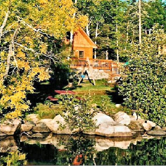 Aspen Log Cabin - Timber Trail Lodge and Resort