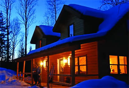 Winter at Timber Trail Lodge