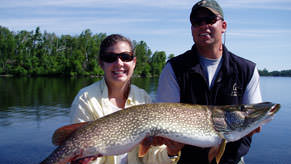 Timber Trail Lodge offers both Boundary Waters fishing trips and access to four interconnecting lakes